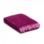 Plaid mohair lila – paars – luxe