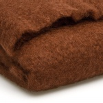 plaid mohair bruin close-up