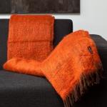Plaid Oranje – Mohair