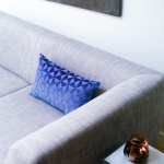Sierkussen Blauw – Bruin
