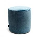 ronde hocker turquoise 40 x 40cm