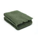 plaid groen mohair
