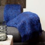 plaid blauw mohair