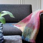 plaid mohair geruit – groen paars blauw