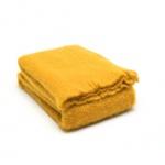 gele plaid mohair